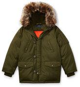 Ralph Lauren 8-20 Hooded Down Jacket