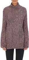Rag & Bone Women's Bry Wool-Blend Mock Turtleneck Sweater-BLACK