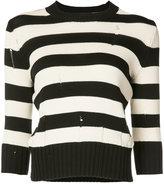 Veronica Beard striped jumper - women - Cotton/Nylon - S