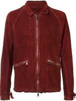 Giorgio Brato creased reversible jacket