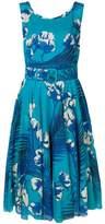 Samantha Sung leaf print dress