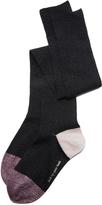 Kate Spade Lurex Rib Pop Over The Knee Socks