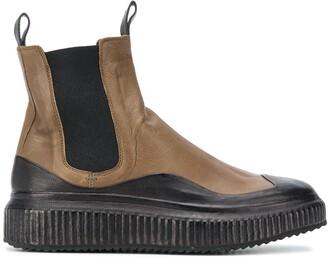 Officine Creative Platform-Sole Ankle Boots