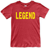 Urban Smalls Red 'Legend' Crewneck Tee - Toddler & Boys