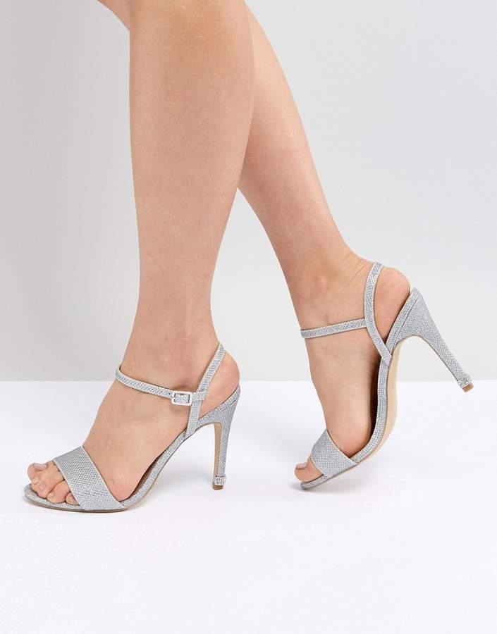 New Look Glitter Bling Heel Sandal