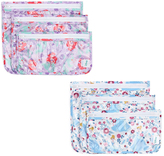 Bumkins Disney Princess Clear Travel Bag- Set of Six