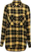 M&Co Ochre checked flannel shirt