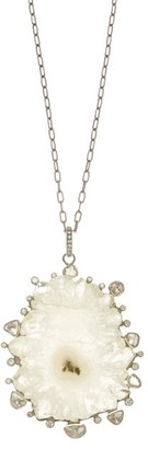 Ileana Makri Iceberg Pendant Necklace - Silver