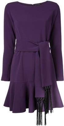 Josie Natori crepe dress