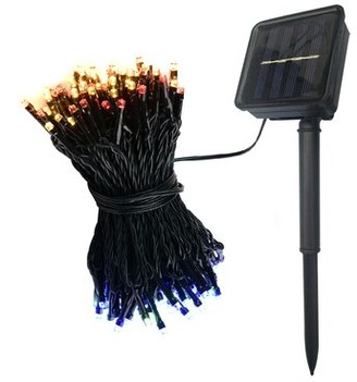 The Holiday Aisle Kantor 72' Solar Powered 200 - Bulb Wide Angle LED Mini String Light