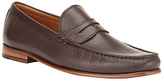 John Lewis Lloyd Penny Loafers, Brown