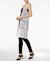Kensie Lace Maxi Vest