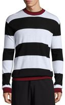 McQ by Alexander McQueen Striped Wool Sweater