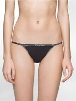 Calvin Klein Id Thin Waistband String Bikini