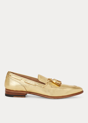 Ralph Lauren Telina Metallic Loafer