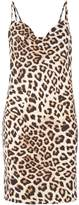 Bardot Sleeveless Leopard Print Dress
