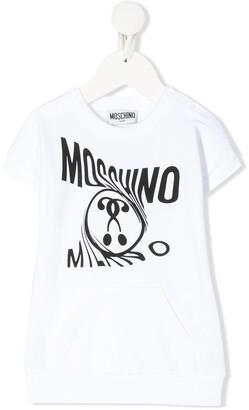 MOSCHINO BAMBINO logo printed T-shirt