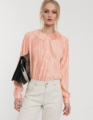 Glamorous shirt in plisse