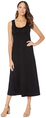 Karen Kane Tank Midi Dress (Black) Women's Dress