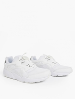 Puma White Disc Blaze CT Sneakers