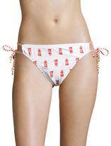 Tommy Bahama Pineapple-Print String Bikini Bottom