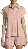 Cosabella Bella Cap-Sleeve Shorty Pajama Set
