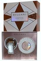 Bvlgari Omnia Crystalline Coffret: Eau De Toilette Spray 40ml + Scented Soap 150g/5.3oz