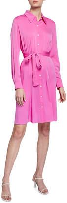 Diane von Furstenberg Dory Silk Crepe De Chine Shirtdress