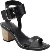 Sigerson Morrison Dalila Leather Buckle Strap Sandals