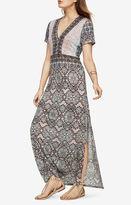 BCBGMAXAZRIA Alissandra Blossoms Print Maxi Dress