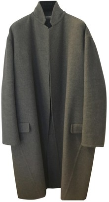 Celine Grey Cashmere Coat for Women
