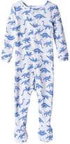 Joe Fresh Baby Boys' Print Sleeper, Mid Blue (Size 0-3)