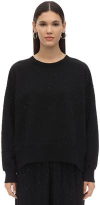 Diesel F-magda Embellished Knit Sweater