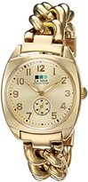 La Mer Women's Quartz Metal and Gold Plated Casual Watch(Model: LMMONACO102)