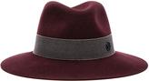 Maison Michel Henrietta Boyfriend Felt Hat