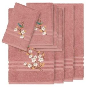 Linum Home Turkish Cotton Springtime 8-Pc. Embellished Towel Set Bedding
