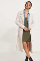 Dynamite Maxi Sweater Coat with Pockets