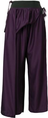 Yohji Yamamoto Pre-Owned apron trousers