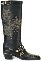 Chloé knee high 'Susanna' boots - women - Leather - 37