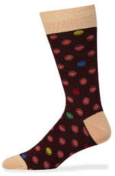 Bugatchi Men's Printed Socks