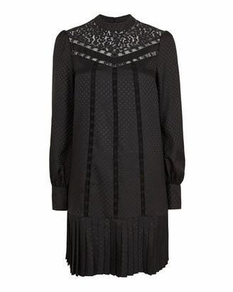 Ted Baker Chllo Lace Detail Long Sleeved Dress