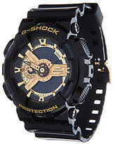 Casio G-Shock Men's Analog Digital Goldtone Black Resin Watch