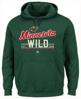 Majestic Men's Minnesota Wild Intense Defense Hoodie