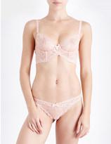 L'Agent by Agent Provocateur Leola lace soft-cup bra