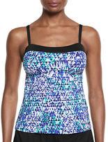 Nike Swim Abstract Print Tankini