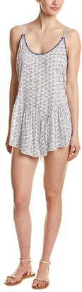 Dolce Vita Women's Cloud Nine Flounce Mini Dress Cover Up