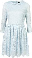 Crochet Collar Lace Dress