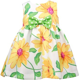 Iris & Ivy Kids' Sunflower Pique Dress