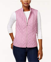 Alfred Dunner Petite Quilted Vest