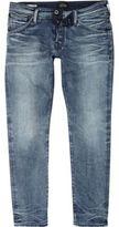 River Island Mid Blue Jack & Jones Slim Fit Jeans